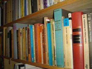 Loving the acculumlation of books!