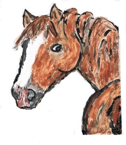 Curriculum to draw a horse while studying horses.