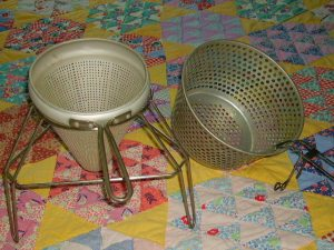 the strainers