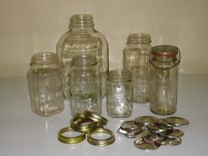 i love old jars