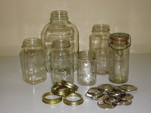 i love old jars