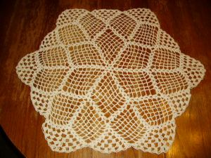 one of Joi's doilies