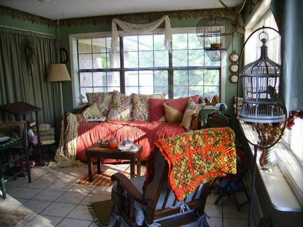 Old sunroom