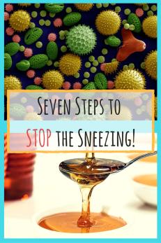 Stop Sneezing steps pollen seven steps
