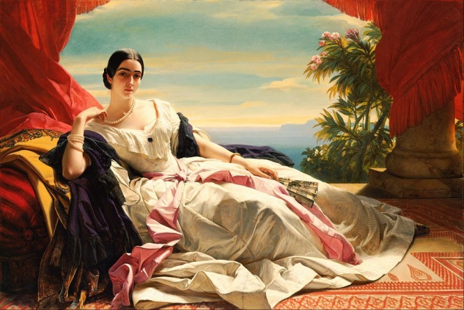 Woman resting