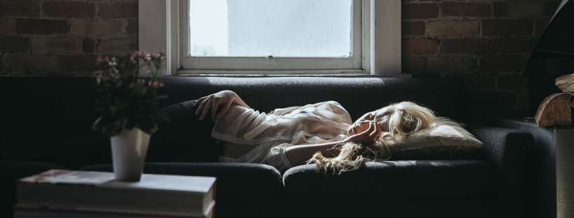 woman, sleeping, tired, lazy, depressed