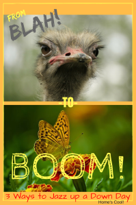 Jazz up a down day from BLAH to BOOM!