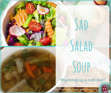 Warm up a cold day by turning your salad into a soup!