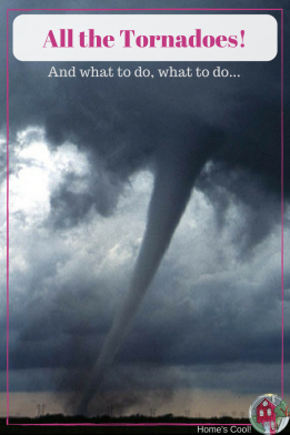 You just never know when a tornado day will pop up. However, usually it's going to be in the Spring, right? Here's everything I know on the subject, from a long life in Tornado Alley!