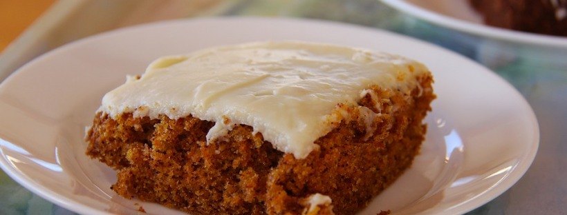 My new version of the amazing carrot cake creation that I've made up myself. :)